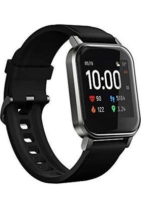 Haylou LS02 Akıllı Saat - IP68 Suya Dayanıklı - Nabız Takip - iOS&Android Uyumlu - Siyah