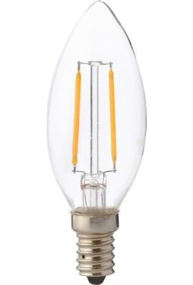 Horoz Filament Candle-2 2W E14 6400K Led Ampul