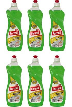 Güleç Formül Sıvı Bulaşık Deterjanı 750 ml Limon 6 Adet