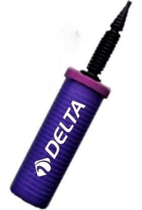 Delta 25 cm Pilates Topu Ve Balon Şişirme Çift Yönlü El Pompası