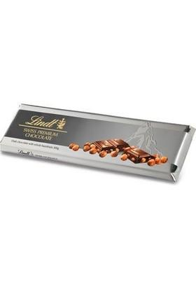 Lindt Silver Dark Hazelnut Kavrulmuş Bütün Fındıklı (%15) Bitter Çikolata 300 gr