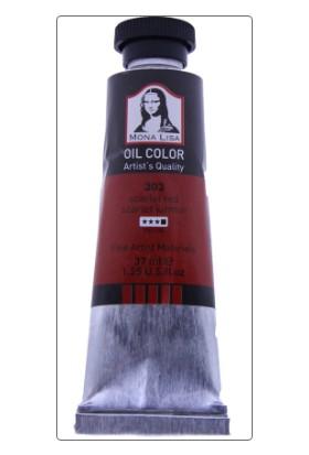 Mona Lisa 303 Yağlı Boya 37 ml Scarlet Kırmızı