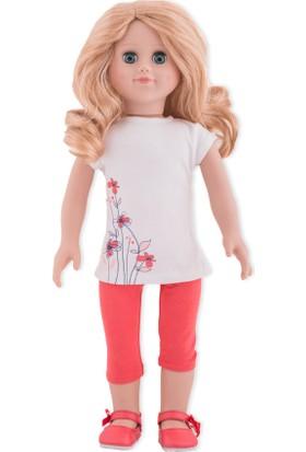 İkizim ve Ben Çiçekli Tunik ve Narçiçeği Taytlı Bebek - Zeynep