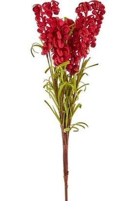 Cemile Kırmızı Yapay Çiçek-042