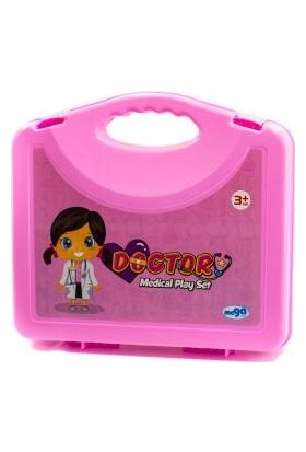 Mega Oyuncak Çantalı Doktor Seti Medical Play Set 01370
