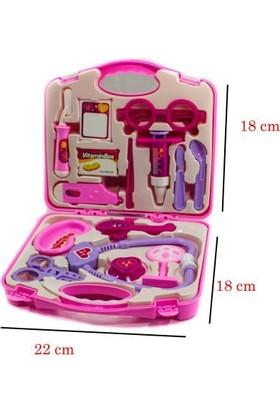 Mega Oyuncak Çantalı Doktor Seti Medical Play Set 01370