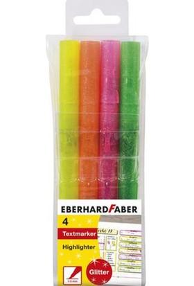 Eberhard Faber Highlighter Glitter Walfet Of Keçeli Kalem 4'lü