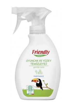 Friendly Organic Oyuncak ve Yüzey Temizleyici Parfümsüz 250 ML.