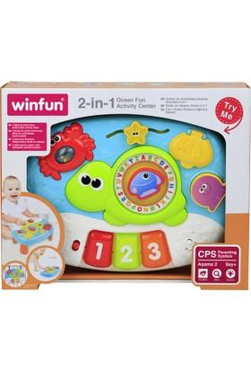 Win Fun 2'si 1 Arada Okyanus Eğlence Masam