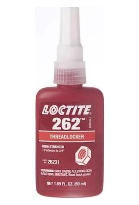 Loctite 262 Orta - Yüksek Mukavemetli Vida Gevşemezlik 50 ml
