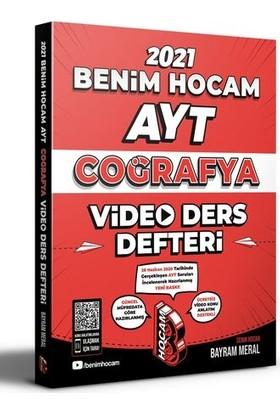 Benim Hocam 2021 AYT Coğrafya Video Ders Defteri - Bayram Meral
