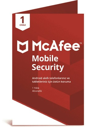 McAfee Mobile Security 01 Cihaz Android