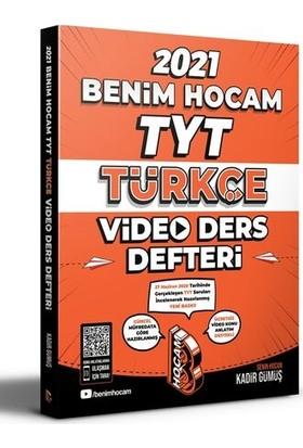Benim Hocam 2021 TYT Türkçe Video Ders Defteri