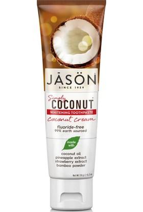 Jasön Simply Coconut Cream Diş Macunu 119 gr