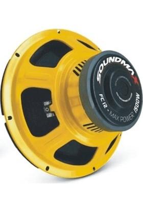 Soundmax SX-FC12 Bass Subwoofer 30 cm 1500W Oto Hoparlör