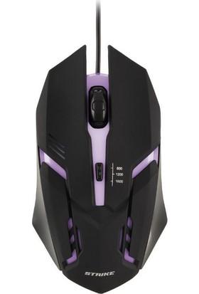 MF Product Strike 0194 Rgb Kablolu Gaming Mouse Siyah