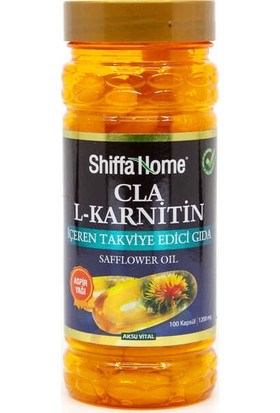 Shiffa Home Aspir Yağı (Cla) 100 Softjel 1000 mg