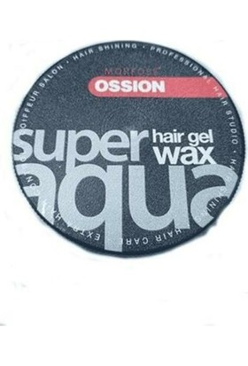 Sector Morfose Ossıon Super Hair Gel Aqua Wax 150ML Siyah