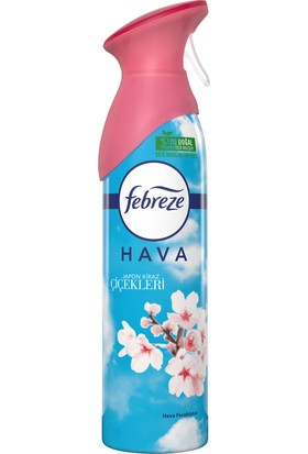 Febreze Hava Ferahlatıcı Sprey 300 ml Oda Kokusu Japon Kiraz Çiçekleri