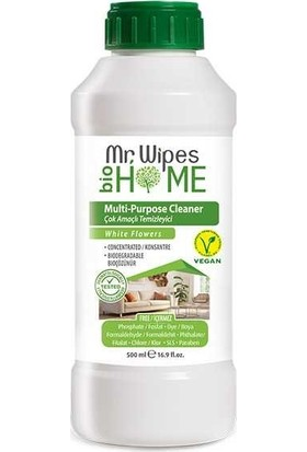 Farmasi Mr Wipes Konsantre Çok Amaçlı Temizleyici Beyaz Çicek Kokulu