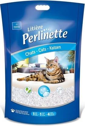 Perlinette Cat Irregular Kalın Taneli Silica Kedi Kumu 1,8 Kg-4,4 Lt