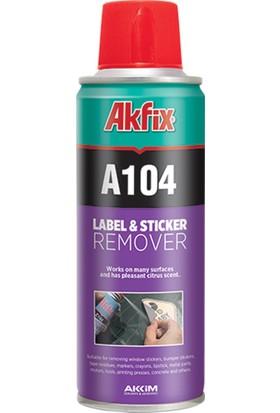 Akfix A104 Etiket Sökücü Sprey 200Ml