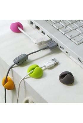 Nargo Kablo Sabitleyici Aparatlar 6Lı Cable Clips