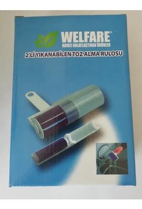 Welfare 2'li Yıkanabilen Toz Alma Rulosu