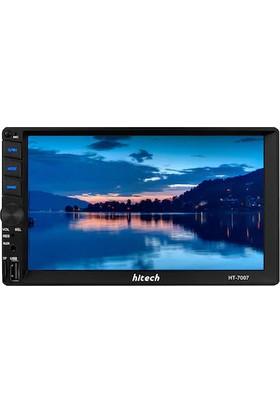 Hitech HT-7007 7 Inç Mirror Link-Bluetooth Double Teyp