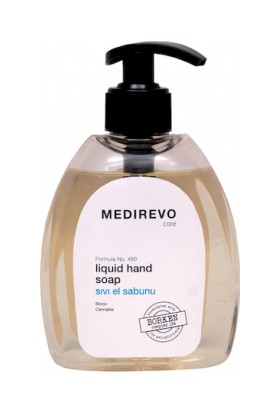 Medirevo Bor, Kenevir Tohumu Yağı, D Vitaminli Sıvı Sabun 300 ml