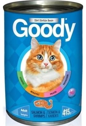 Goody Somonlu,Karidesli Konserve Kedi Maması 415 gr 24'lü