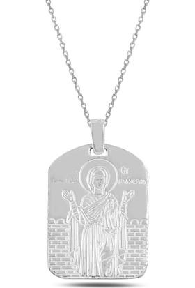 Sanal Kuyumculuk Gümüş Meryem Ana Kolye