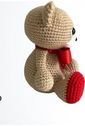 Amigurumi Toys 90 Organik El Örmesi Ayıcık