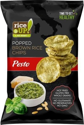 Rice Up Poppet Brown Rice Chips Gluten Free 60 gr