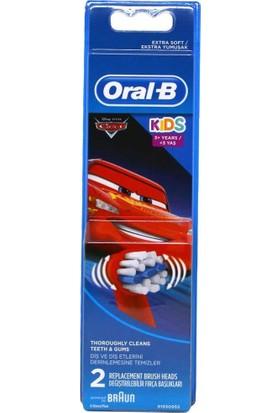 Oral B Diş Fırçası Yedek Başlığı Cars Çocuk 2'li