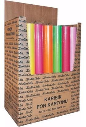 K.Color 50*70 160Gr 10Lu Rulo Stand Fon Kartonu