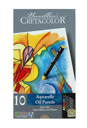 CretaColor 10 Aguarelle Oil Pastels