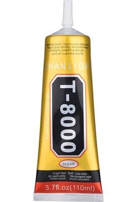 T8000 T-8000 Cep Telefonu LCD Ekran Yapıştırıcı Dokunmatik Ekran Yapıştırıcısı 110ML