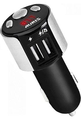 Auris Bluetooth Fm Transmitter Çift USB Girişli