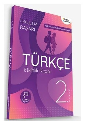 Doğan Akademi 2.Sınıf Türkçe Etkinlik Kitabı