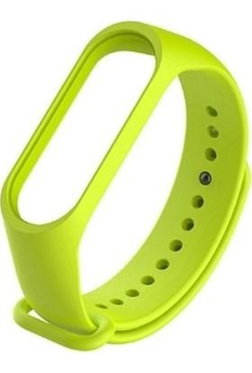 UKS Case Mi Band 5 Mat Silikon Kordon Yeşil