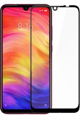 UKS Case Xiaomi Redmi Note 7 Tam Kaplayan Ekran Koruyucu 5D Cam