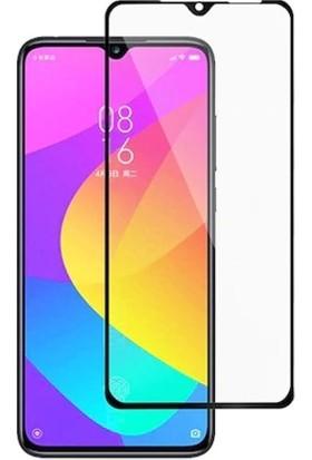UKS Case Xiaomi Mi 9 Lite Tam Kaplayan Ekran Koruyucu 5D Cam