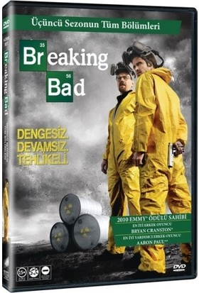 Breaking Bad Sezon 3 DVD Dizi