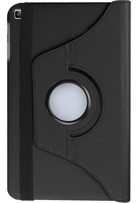 "Fibaks Samsung Galaxy Tab A SM-T290/T295/T297 8"" Kılıf 360 Derece Dönebilen Standlı Tam Koruma Akıllı Kapak Siyah"