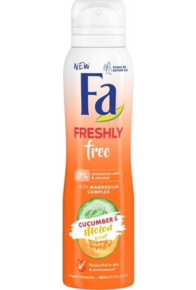 Fa Deo Women Freshly Free Cucumber&Melon - 6'lı Paket