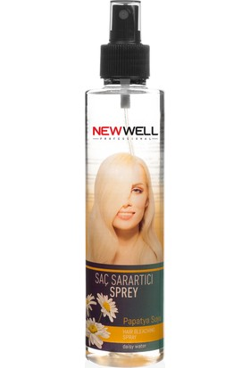 New Well Saç Sarartıcı Sprey - Papatya Suyu 220 ml