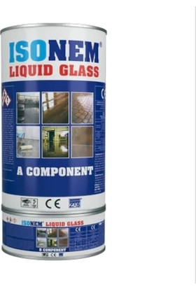 Isonem Liquid Glass Sıvı Cam - Şeffaf - Zemin Su Yalıtımı 4 kg