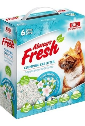 Bio Pet Active Always Fresh | Ferah Kokulu Topaklanan Kedi Kumu
