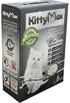 Kittymax Aktif Karbonlu Bentonit Kedi Kumu